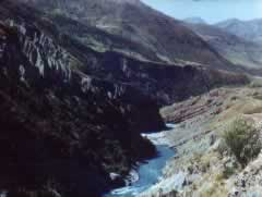 River in the Tian Shan Mountain Rainge
