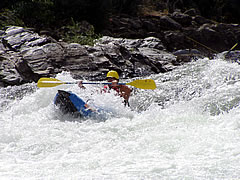 Inflatable Kayak on the Rogue River
