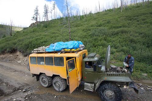 Siberian Ural Truck