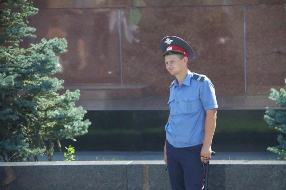 Russian Guard at Lenin's Tomb