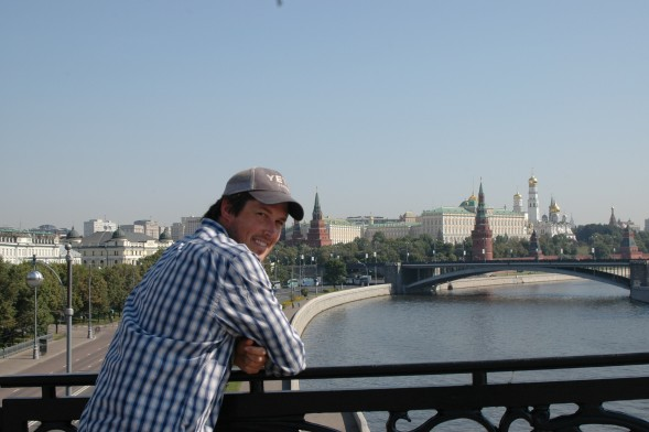 Zach in Moscow